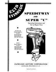 1932-1936 Evinrude Outboard Owner's and P …