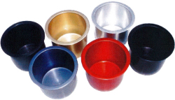 Beckson Marine, Powder Coated Aluminum Cup Ho …
