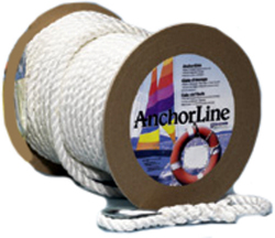 "Twisted Nylon Anchor Line, TW, 3/8""x100& …"