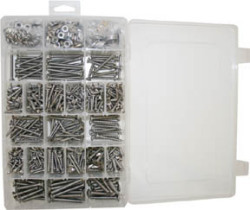 Deluxe Screw Fastener Kit, 800piece - Seasens …