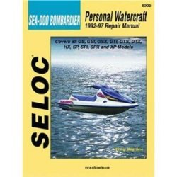 Sea-Doo Bombardier Jet Ski PWC 1992-1997 Repa …