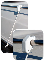 Rail/Lifeline Boat Fender Bracket, Pair - Tay …