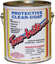 Protective Clear-Coat, 1 Gallon - Toon-brite