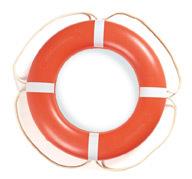 """24"""" Ring Buoy, Orange with White Rope -  …"""