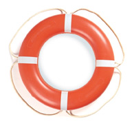 "24"" Ring Buoy, Orange - Taylor Made"