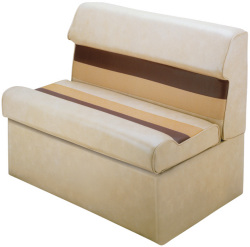 """Deluxe Pontoon 37"""" Lounge Seat, Sand-Che …"""