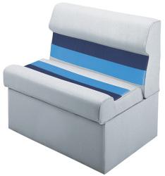 "Deluxe Pontoon 28"" Lounge Seat, Light Gr …"
