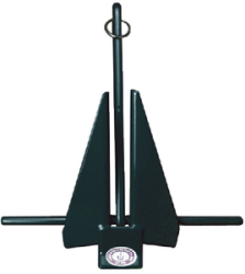 Greenfield Slip-Ring Anchor, 8 Lb, Coated Blu …