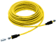 Hubbell Tv Cord Set, 50', Yellow