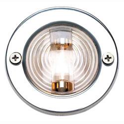 "Transom Light, 3"" Diameter, Round, Stain …"