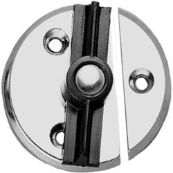 Door Button, Chrome Plated Zinc - Seachoice