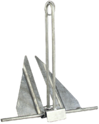 10E Utility Anchor for Boats 20' to 24&#3 …