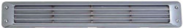 Flush Louvered Vent, White - Attwood