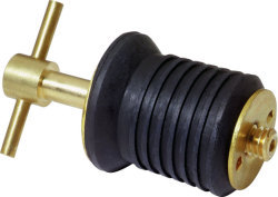 "T-Handle Drain Plug, 1"" without Chain -  …"
