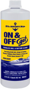 Fiberglass Gel Hull & Bottom Cleaner, 32  …