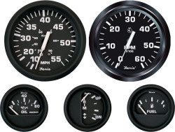 "Tachometer, 7K, 4"" For Outboards - Faria"