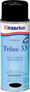 Black Trilux 33 Antifouling Aerosol - Interlu …