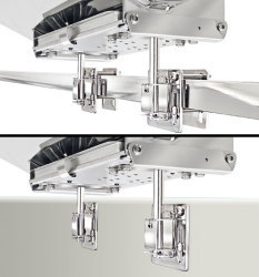 Magma, Dual Square/Flat Rail Mount, Grill Mou …