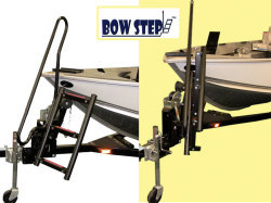3 Step Starboard with Right Handle Ladder, Bl …
