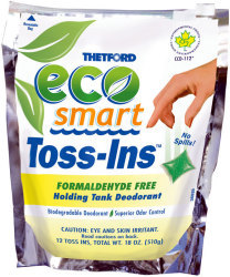 Eco-Smart Toss-Ins, 12 Packets - Thetford
