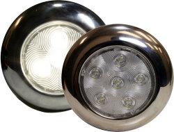 "S.S. LED Puck Light, 4"" - Seasense"
