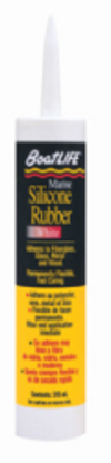 Marine Silicone Rubber Sealant 10.6 Oz Cartri …