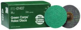 264f Green Corps Roloc Discs Brown, Grade 36, …