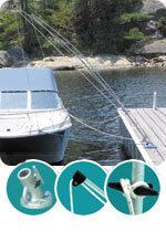 Premium Dockside Mooring Whip, 12', 5,000 …