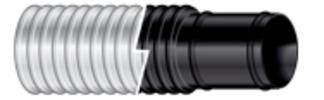 "Bilgeflex Hose Black, 1-1/8"" I.D., 1&quo …"