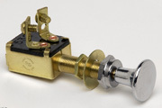 Off-On Push Pull Switch With Chrome Plated Kn …