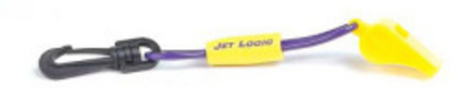 Whistle with Lanyard Purple/Yellow - PWC Part …