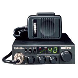 Uniden PRO520XL CB Radio w/ 7 Watt Audio Outp …