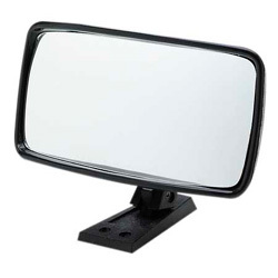 "Universal 4 x 8"" Rear View Boat Mirror;  …"
