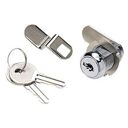 "Cam Lock Set, 1 1/8"", Chrome Plated  …"