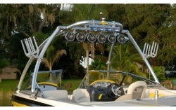 MT1 Monster Tower Wakeboard Tower - Polished  …