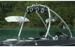 MTE Monster Tower Wakeboard Tower - Polished