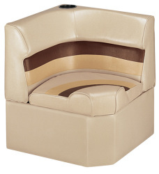Deluxe Pontoon Corner Section Lounge Seat, Sa …