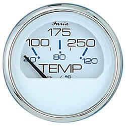Chesapeake SS White Water Temperature Gauge - …