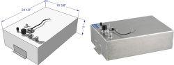 12 Gallon Below Deck Aluminum Fuel Tank 59043 …