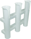 Rod Holder, 3 Rod, White - Seasense