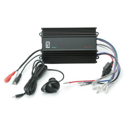Poly-Planar 4CH, 120W, Audio Amplifier w/Volu …