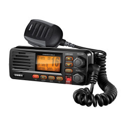 Uniden UM380 Black VHF Radio Class D