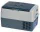 Refrigerator/Freezer, 45 Liter, Black/Gray -  …