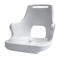 Standard Pilot Chair 015 Roto Molded Shell wi …