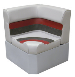 Deluxe Pontoon Corner Section Lounge Seat, Gr …
