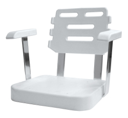 Ladder Back Helm Chair 562 Roto Molded Shell  …