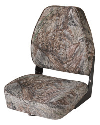 Camo High-Back Fold-Down Boat Seat, Camouflag …