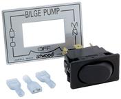 Three-Way Boat Pump Switch - Attwood