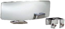 Universal Ski Boat Mirror - Perma-Plate - Att …