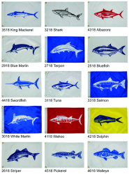 Flag, Blue Marlin - Taylor Made